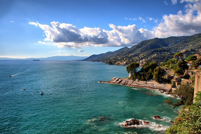Recco, Italy - maybe in June?