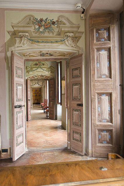 Villa della Porta Bozzolo, Casalzuigno, Lombardy, Italy