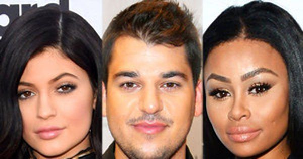 Rob Kardasian Tweets Kylie Jenner's Real Cell Phone Number Inside Their Latest Family Feud - E! Online