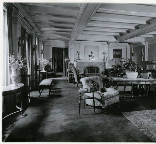 Madison Avenue George A Easley Home Interior Morristown NJ The Curtiss Photograph Collection
