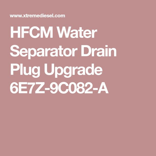 10 best my 60 dreadnought images on pinterest 6 0 powerstroke hfcm water separator drain plug upgrade 6e7z 9c082 a fandeluxe Gallery