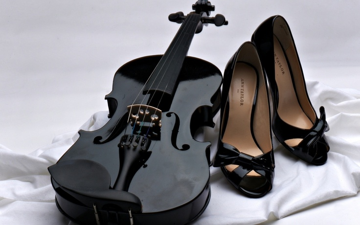 Black Violin And Black High Heels: Music, Black Violin, White, Wallpapers, Instruments