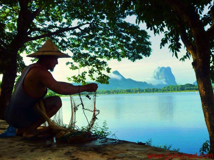 Beautiful Hpa An Kan Thar Yar lake inspiration photography Myanmar Burma Globemad Amazing lakes and waterfalls in Myanmar Burma