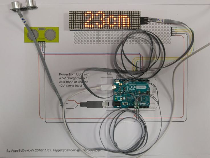 Rangefinder for Garage Parking With Arduino