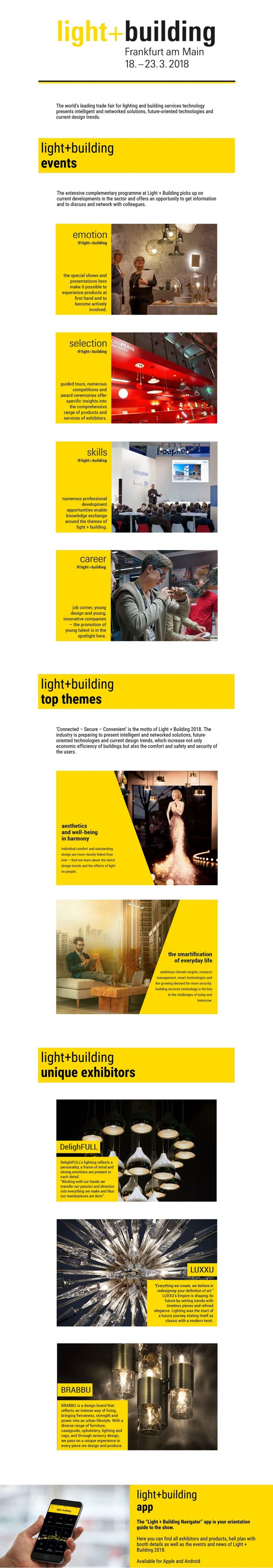 Light + Building – One of The Top Design Events of March #DesignEvent #LightBuilding #Frankfurt #Light #Design http://mydesignagenda.com/light-building-design-events-march/