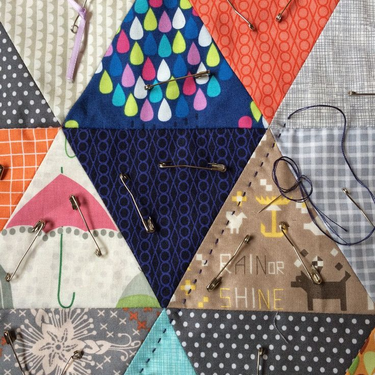 Charm About You: big stitch hand quilting tips