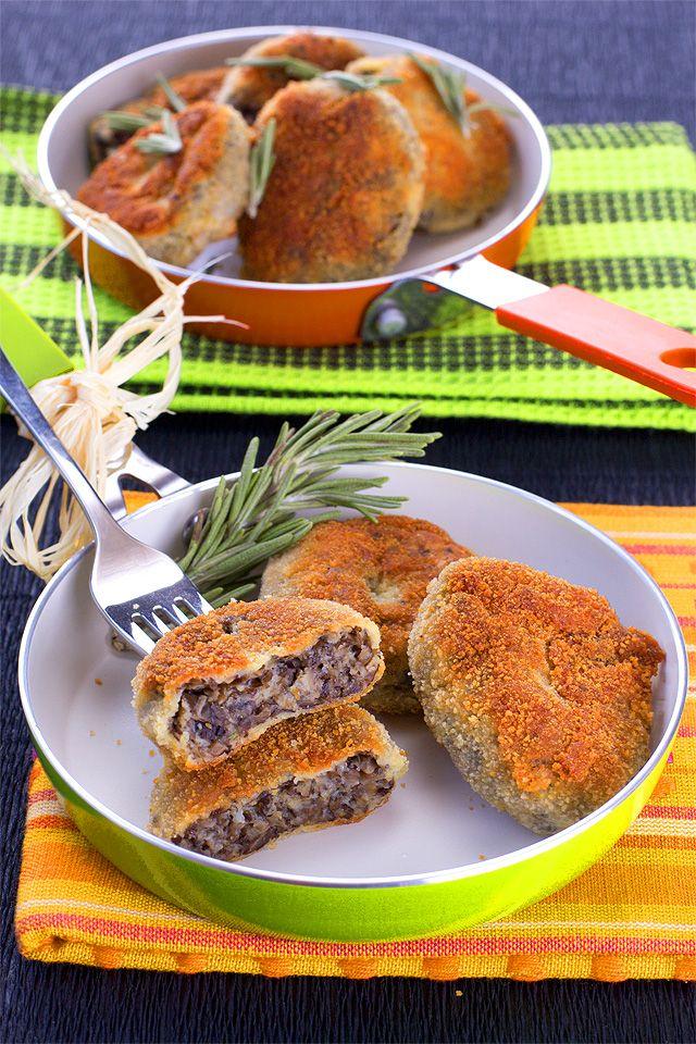 Котлеты из замороженных грибов рецепт с фото | Food ...