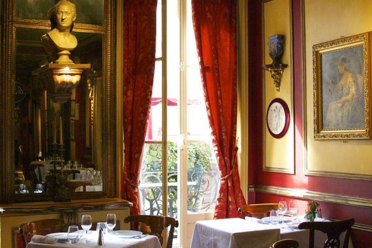 Le Procope, a restaurant located in the Odéon area, is a perfect example of how Paris is a city of hidden treasures. Founded in 1686, the site holds the honor of being the city's oldest café. It is also a part-time museum, telling an intimate story of people who changed history.