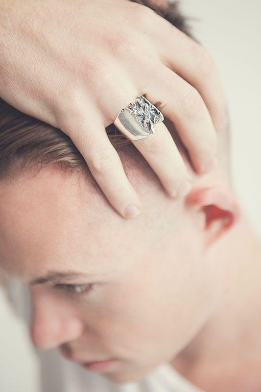 Ruin | Captve Jewellery | sterling silver | handmade | ring