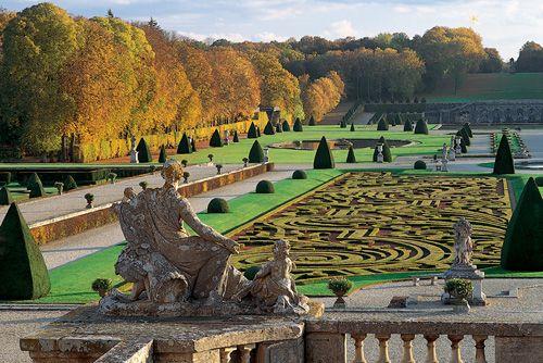 Jardins de Vaux-le-Vicomte - France