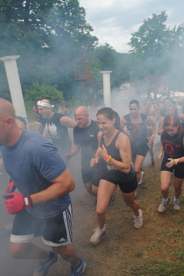 Tuxedo ny Spartan Race June 3rd 2012