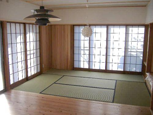 scandinavian light & japanese room