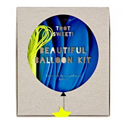 Blue Balloon Kit - Shop