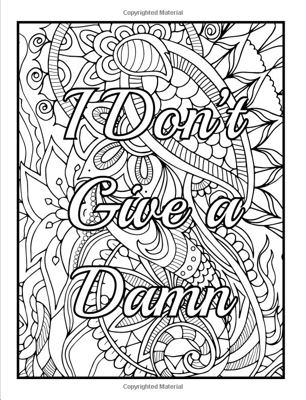Amazon Calm The Fuck Down And Color An Adult Coloring Book With