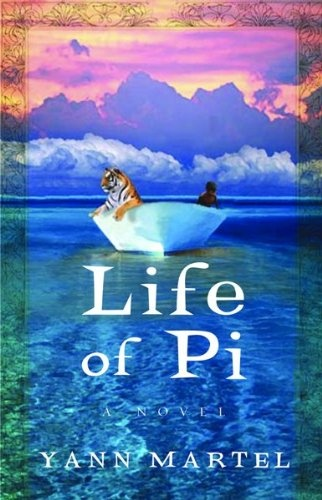 Life of Pi...I need to read this book before the film comes out.  I have heard it is great; movie trailer was amazing.