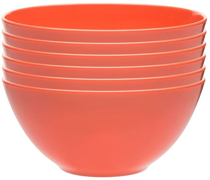 Zak Designs Ella 6-pc. Soup Bowl Set