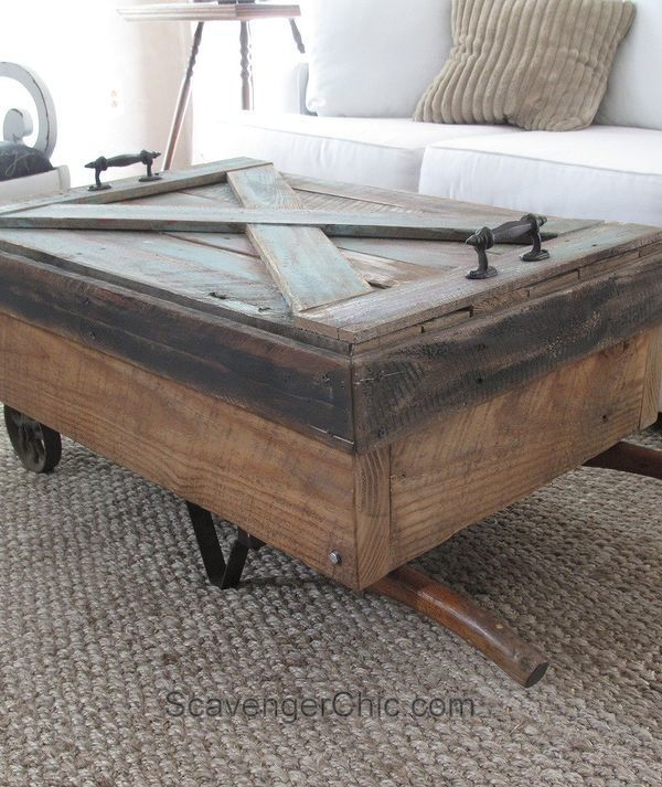 These Coffee Table Ideas Will Inspire You To Make Your Own Hometalk Cart Coffee Table Coffee Table Furniture
