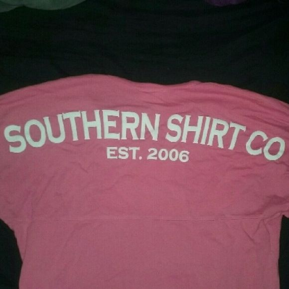 Southern Shirt Co Spirit Jersey Used only a couple of times. Bought from Glik's! Southern Shirt Company Tops Tees - Long Sleeve