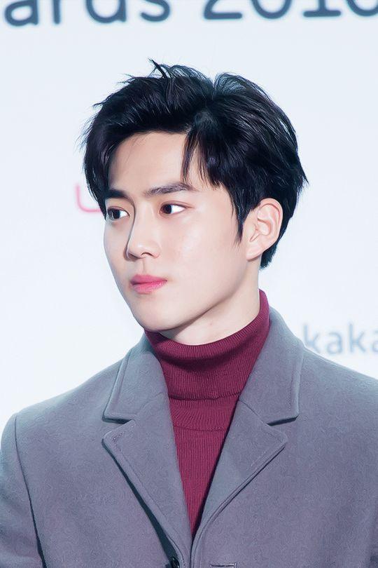 Suho- EXO - 161119 Melon Music Awards