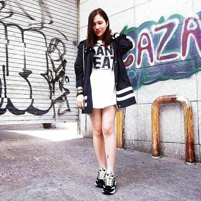skechers d'lite korea | Wearing my Skechers D'lites. It is really popular in Korea. I have ...