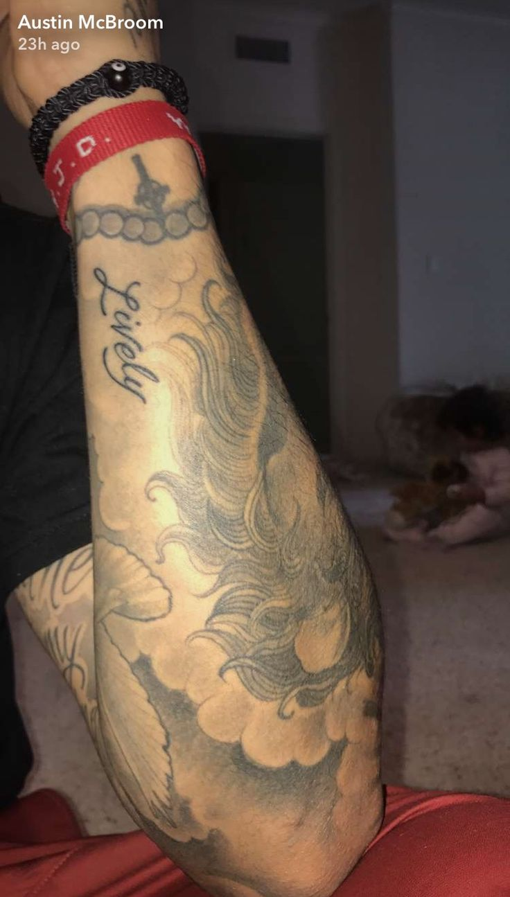 Austin Mcbroom Tatted Art Ace Family Ace Tattoo