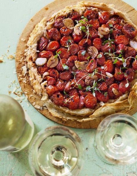 Sauvignon Blanc – Tomat-tarte tatin – Tomato Tarte Tatin
