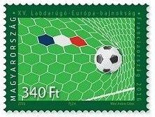 EURO 2016 Stamps Hungary