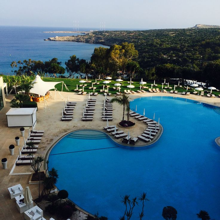 A room with a view @ The Grecian Park Hotel, Konnos Bay, Cyprus