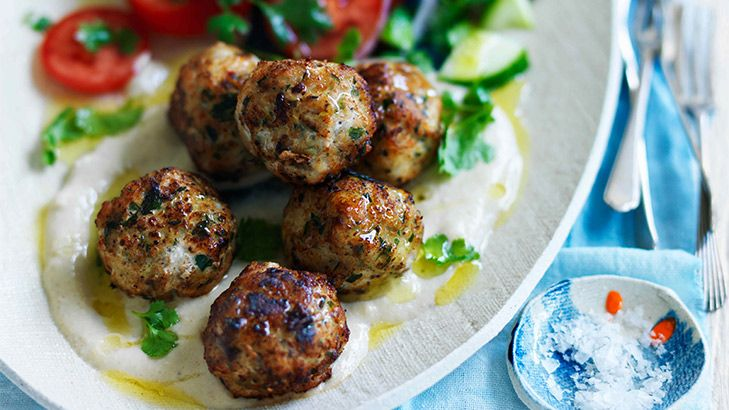 Try a Turkish twist on meatballs - using fish - and served with a walnut sauce and yoghurt: delicious!