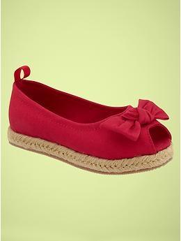 Chambray peep-toe flats | Gap: Peep Toe Flats, Canvas Peep, Girlie Things, Flats 26 95Usd, Chambray Peep Toe, Baby Kid Stuff, Gap Chambray