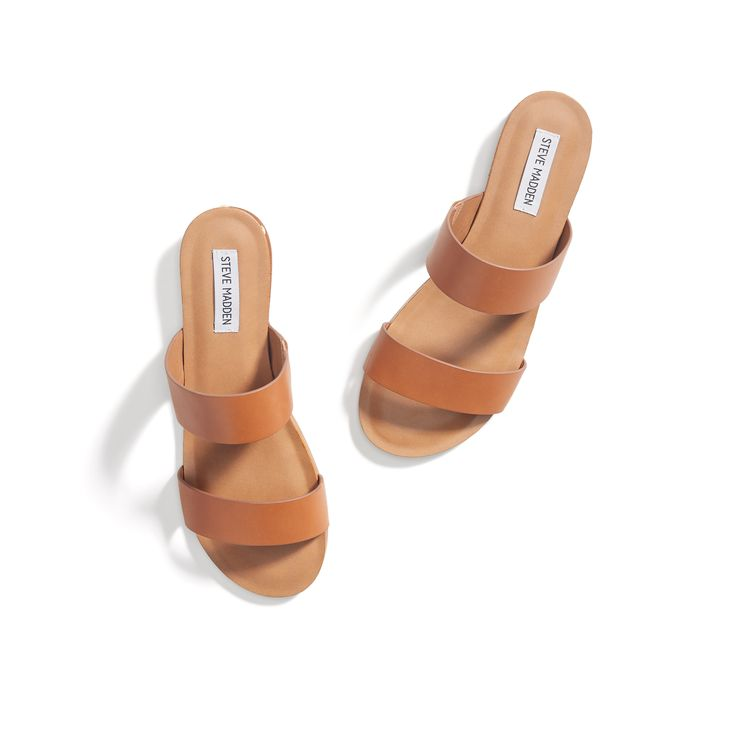 Stitch Fix New Arrivals: Leather Slide Sandals