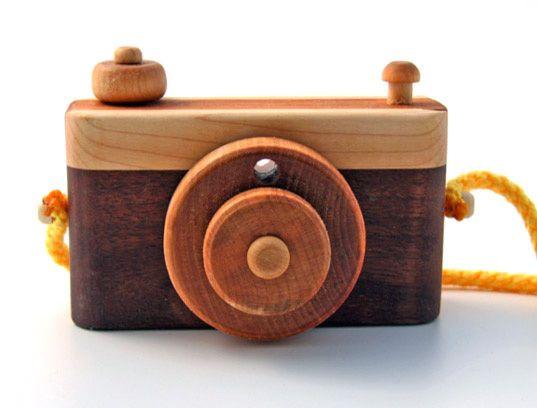 DIY Wood Toy Camera