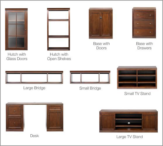 Logan Desk In 2019 Modular Cabinets Modular Walls