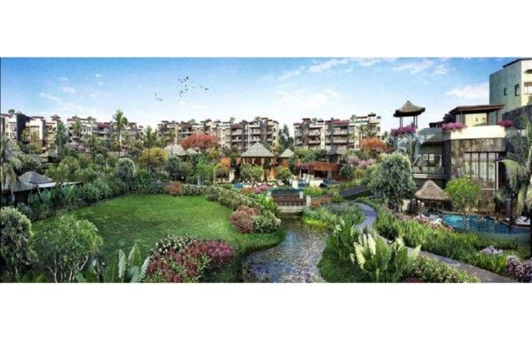 Penthouse in Jimbaran Beach Bali master plan