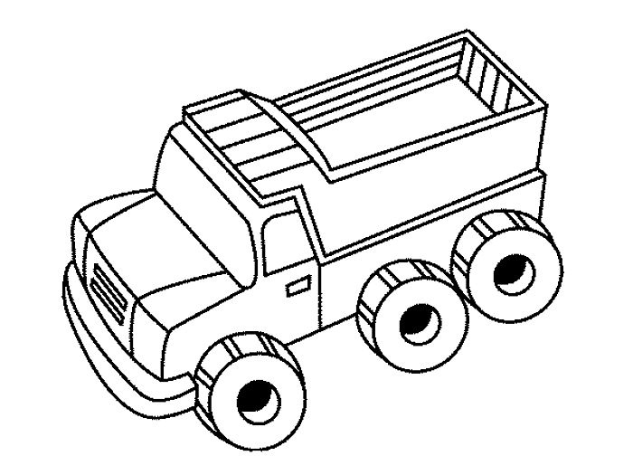 39 best Dopravní prostředky images on Pinterest Coloring, Autos - best of free coloring pages big trucks