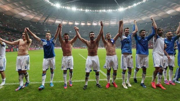 Greece stunned Russia 1-0   http://www.bbc.co.uk/sport/0/football/18474967