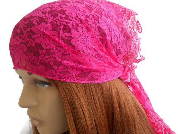 Womens Pink Bandana, Pink Bandana, Lace Head Scarf, Scarf Bandana, Summer Hair Band, Womens Head Band, Lace Scarf, Pink Scarf   The white headband is stylish. It is ideal for daily life, sports, party, dance, hiking, exercise, yoga. Multipurpose. Hair band, Foulard, Shawl. You can use many options. Clean sewing is done.    COLOR: Pink   MAINTENANCE INSTRUCTIONS It can be washed at low temperatures.    Deliveries will be sent within 1-3 days of receiving payment. You can track your business…
