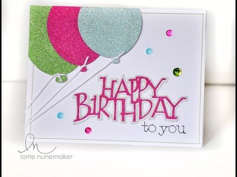 In this tutorial you will learn how to use the Cricut Explore Pen Tool to create a birthday card.