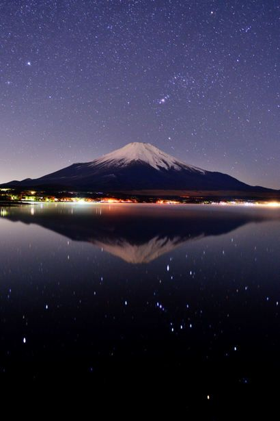 Orion and Mt. Fuji