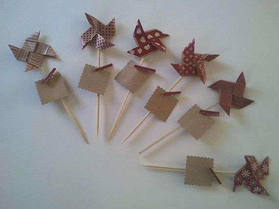 6markseater origami windmill by CALLMETHALIE on Etsy, €16.00