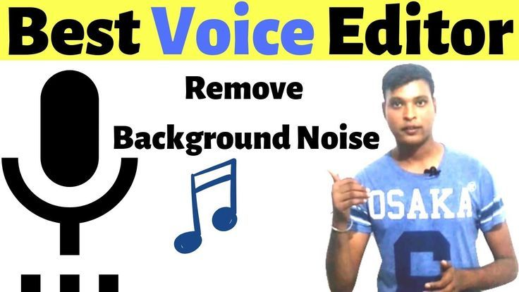 Best Free High Quality Audio Editor Remove Background Noise Easily On An Background Noise How To Remove Noise Remove background high quality free