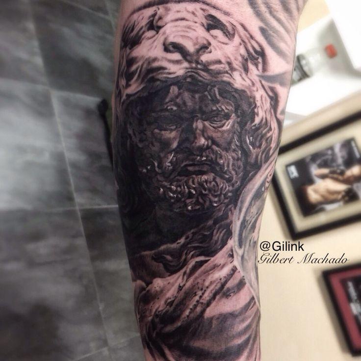 Tattoo, tattoos, Hercules, statue | Tattoos | Hercules ...