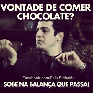 Ah que maldade!!!!! eu queria um chocolate kkkkkkk