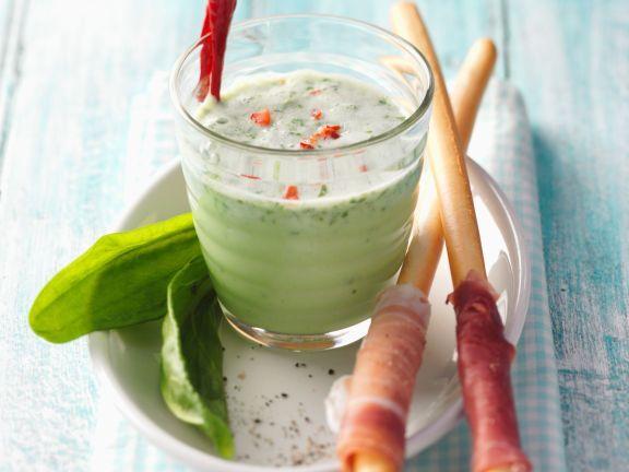 Scharfer Sauerampfer-Lassi ist ein Rezept mit frischen Zutaten aus der Kategorie Getränke. Probieren Sie dieses und weitere Rezepte von EAT SMARTER!