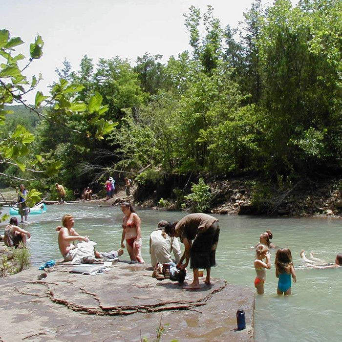 29. Buffalo Point: Swim in the clean, clear waters of the Buffalo River!