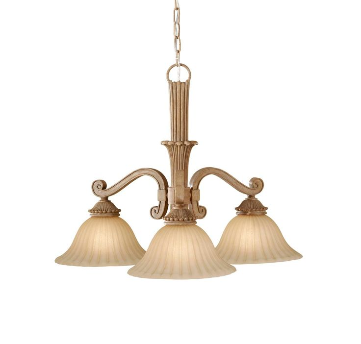 Feiss Blaire 3-Light Kitchen Chandelier in Other, Clearance, All Clearance, Clearance Chandeliers: ProgressiveLighting.com