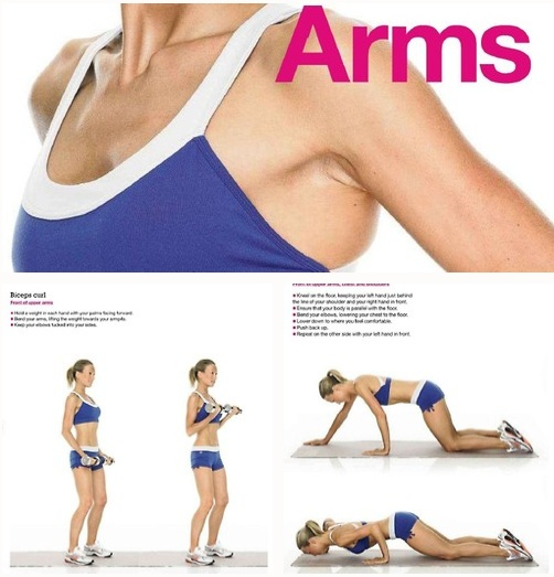 6 exercises for great arms