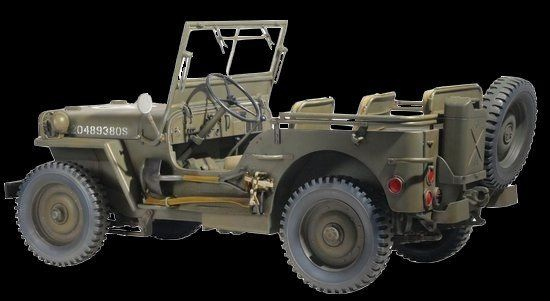 Dragon Military Models 1/6 US 1/4-Ton 4x4 Willys Jeep Kit