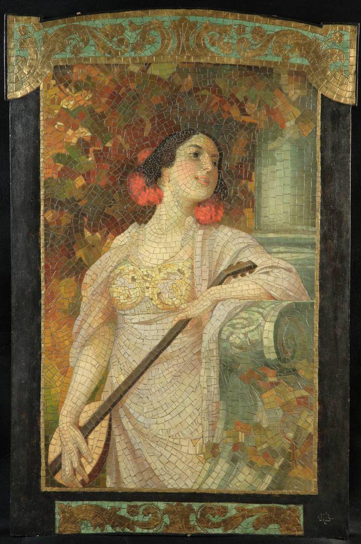 10 best Mosaic famous paintings images on Pinterest   Mosaic art ...