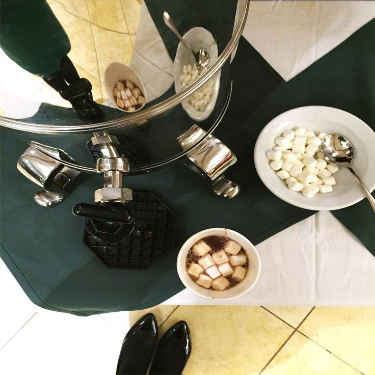 During the cold winter month of December, the Boston Marriott Quincy kindly offers guests hot chocolate while waiting in the lobby, or checking in at the Front Office. Enjoy! #QuincyMarriott